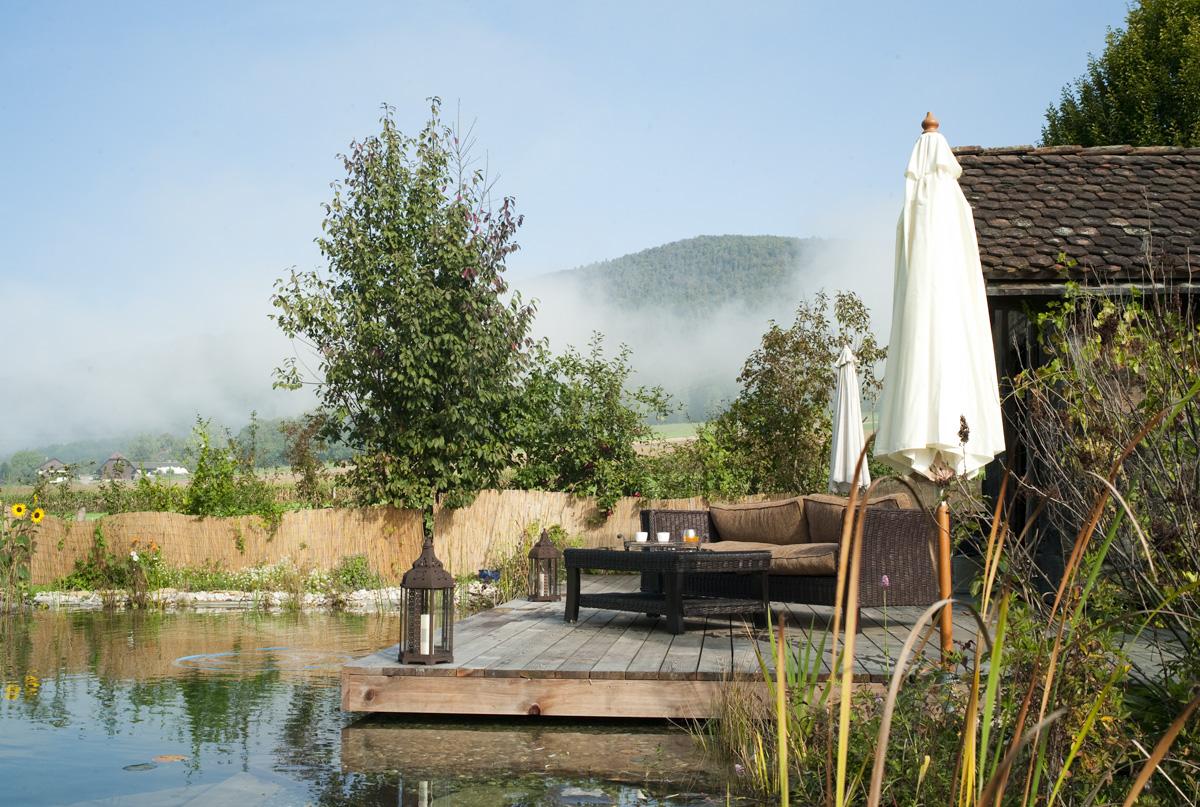 Pr en bulle chambre d 39 h te de luxe courcelon jura suisse for Jura chambre d hotes